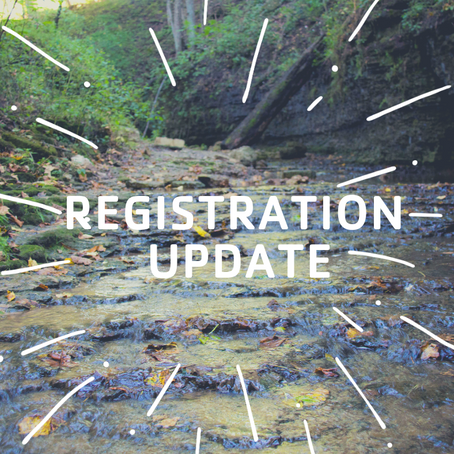 Registration Update 6/13/19