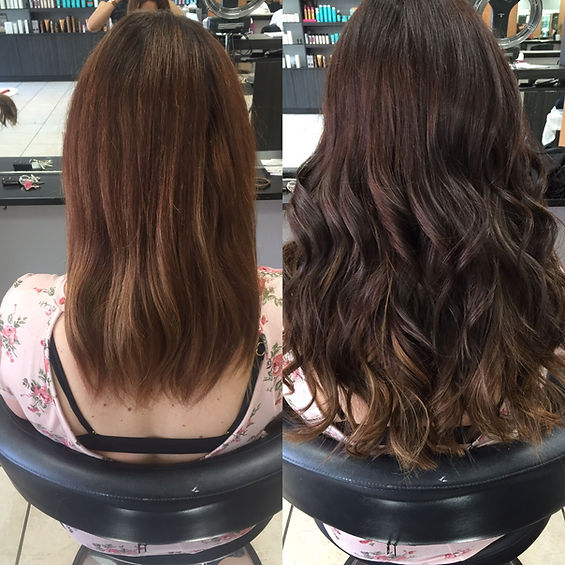 NBR Hair Extensions, Color, & Cut By Jessica Gonzalez