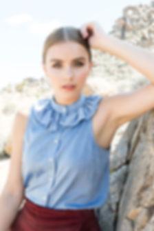 Photography: Ashley Batz,Hair:Jessica Gonzalez, Makeup: Ionie A,For Chelsea Nicole M&H, Clothing Line : Georgette Crimson, Model: Jana Poole