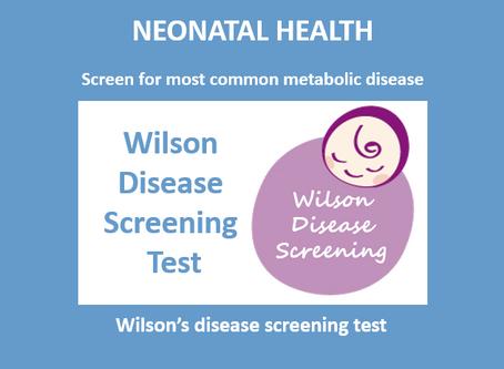 Wilson's Disease Screening Test