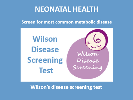 Wilson's Disease Screening Test