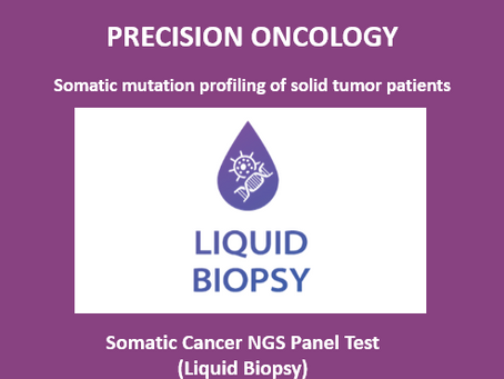 Solid Tumor NGS Panel (Liquid Biopsy) Test