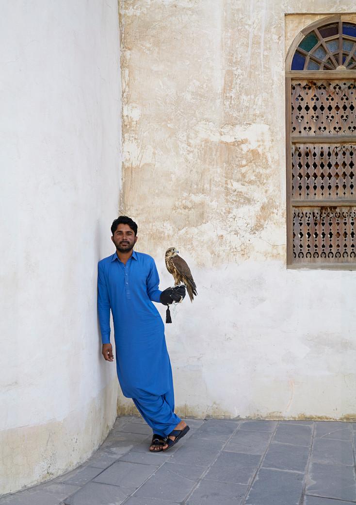 Naresh, Falconer, Doha