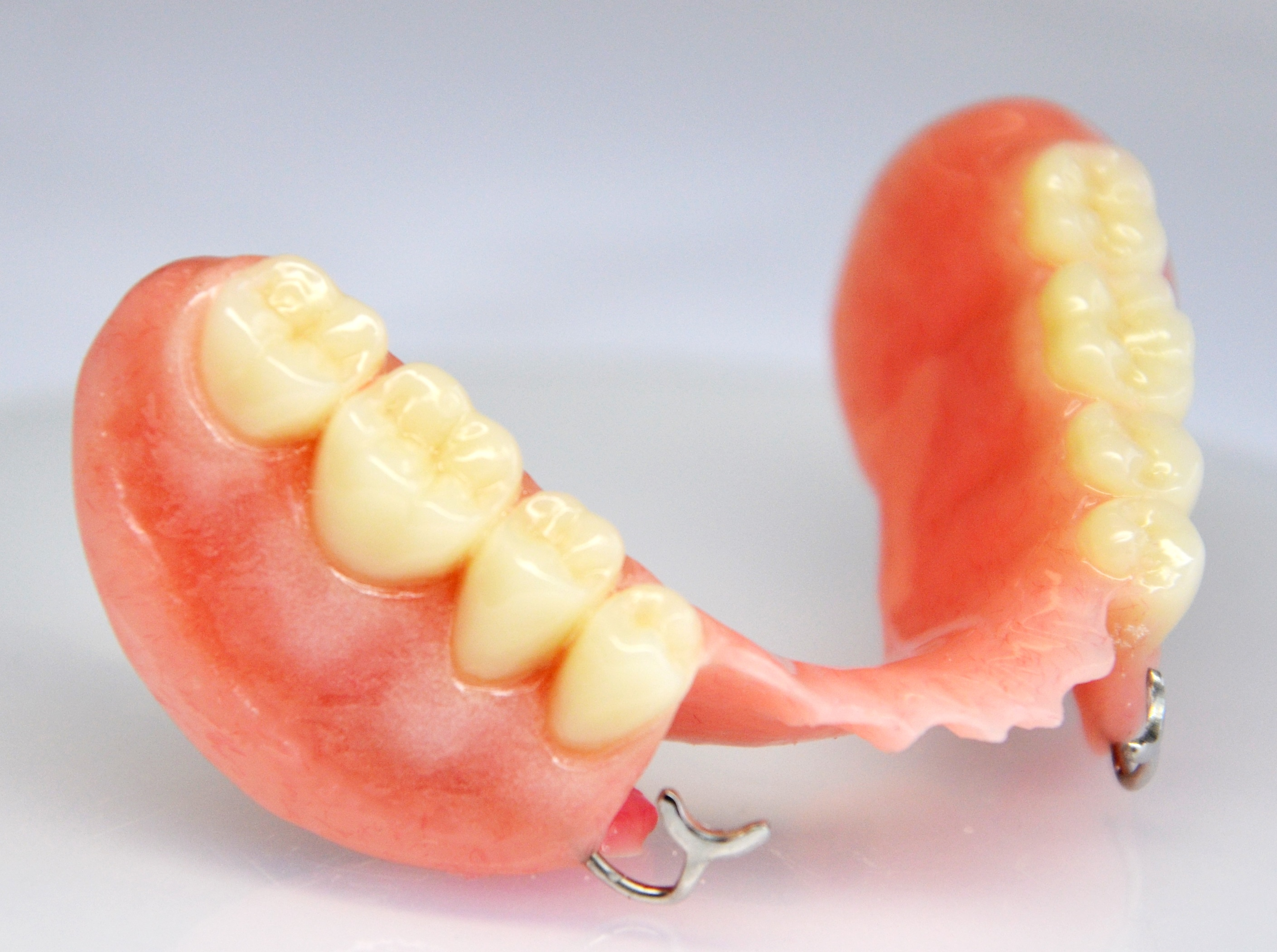 Partial lower denture