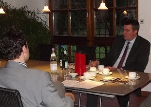 Strategiebesprechung mit Führungskräften der IHK zu Dortmund