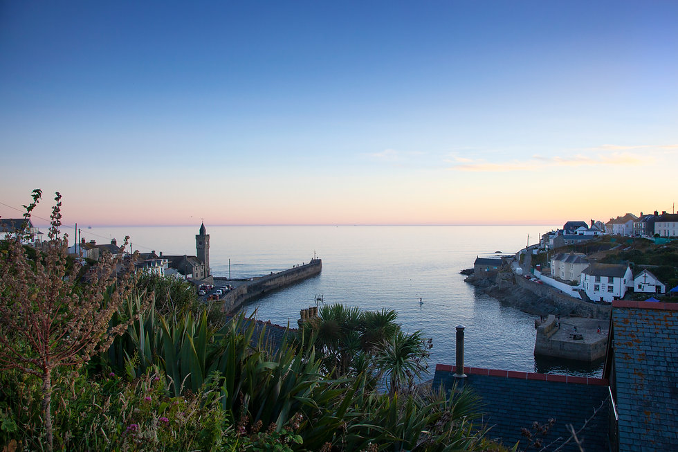 Late Afternoon in Summer, Porthleven.jpg