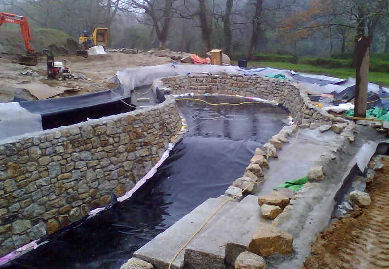 Natural Pool Construction