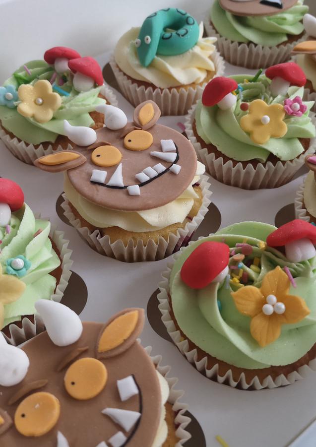 Grufallo-themed-cupcakes-Cornwall