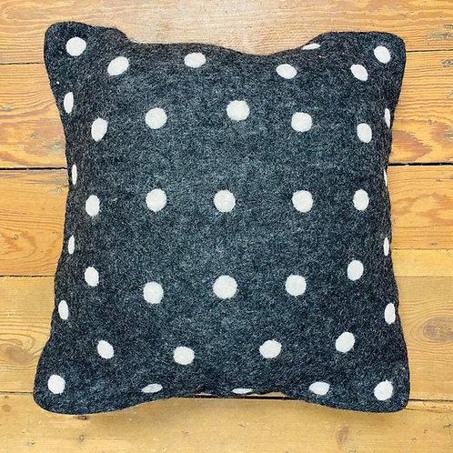 Dotty Felt Cushion