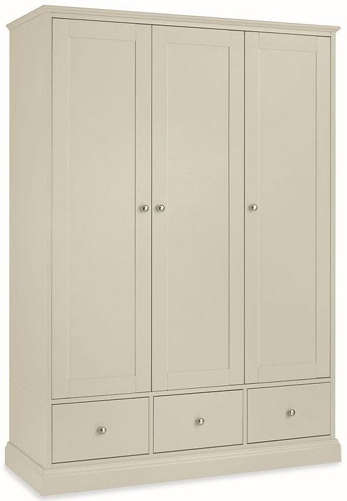 Ashby Cotton 3 Door Triple Wardrobe