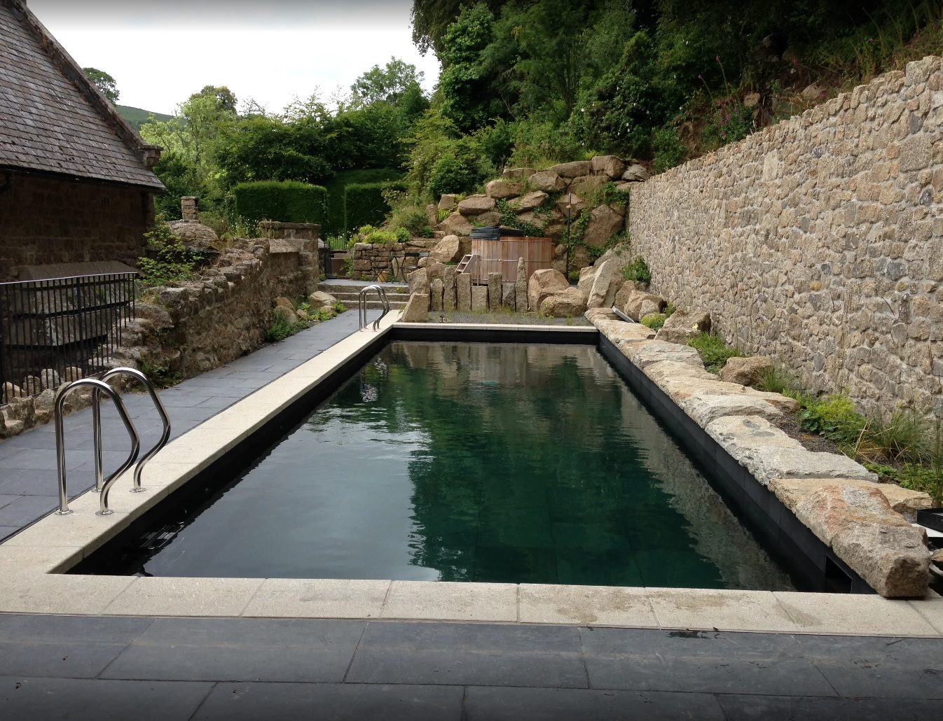 Natural Pool - Pool cover