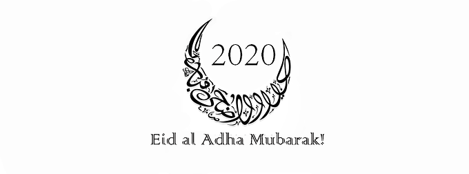 Eid Al-Adha er fredag 31. juli 2020 InshaAllah