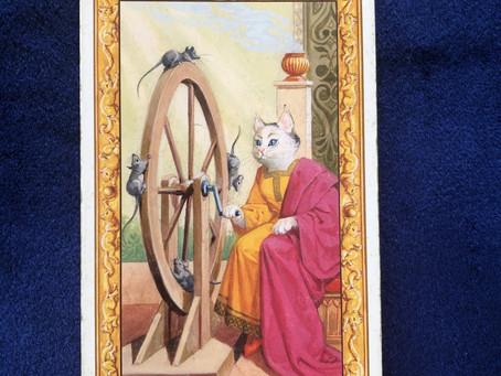 Ⅹ 運命の輪