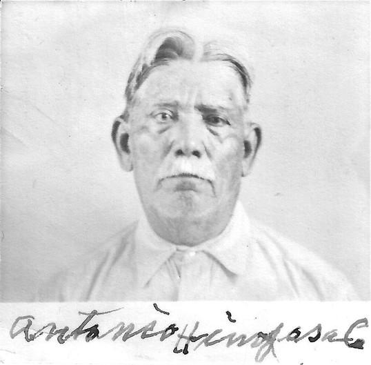 Antonio Hinojosa, adopted father of Antonio (Tony) Hinojosa