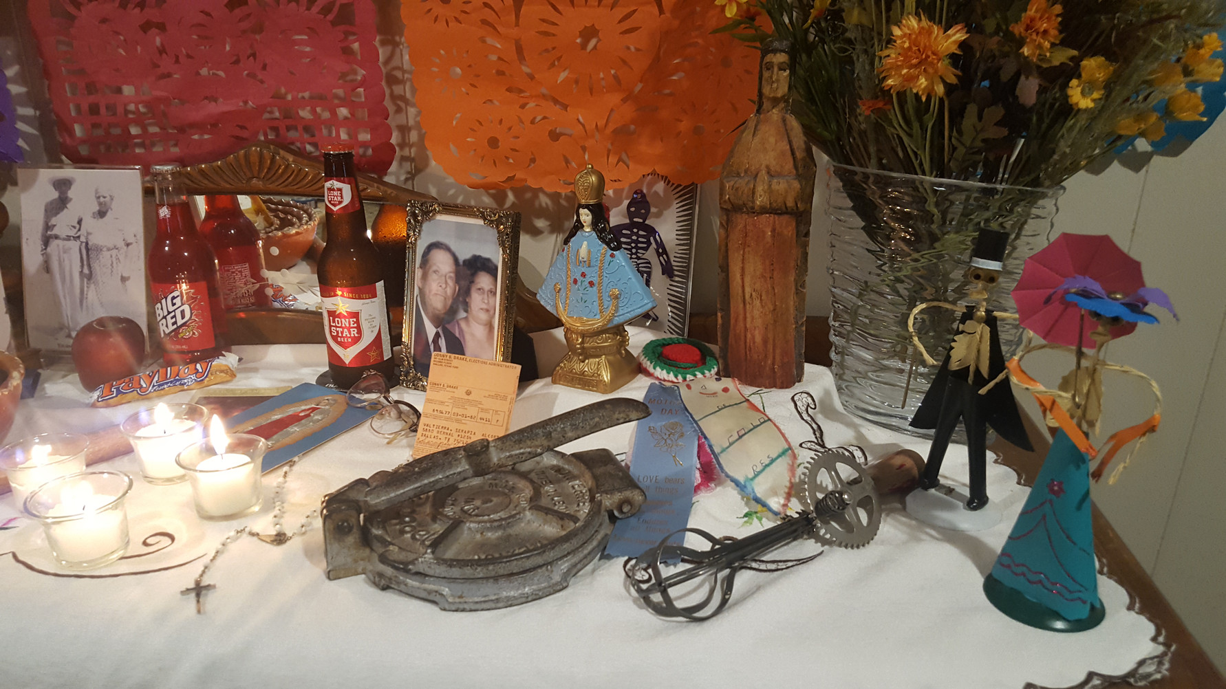 Altar of the Alcorta-Valtierra family