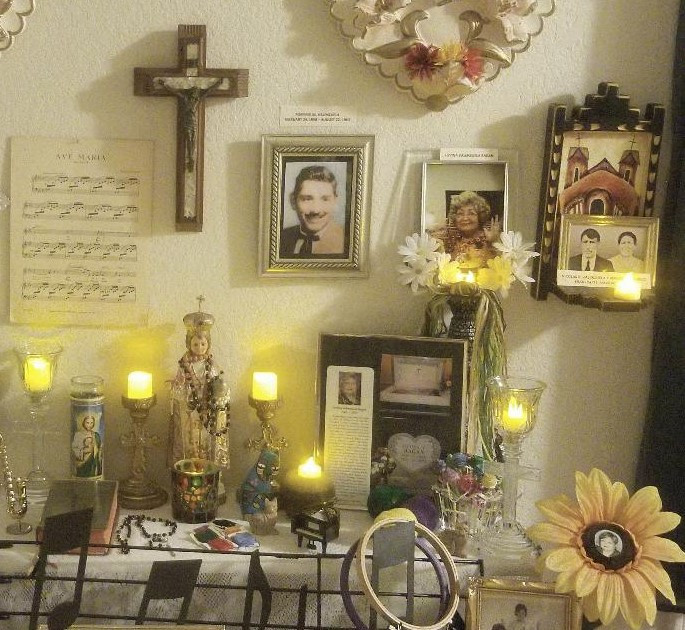 Altar of the Valenzuela family