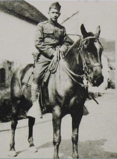 Corporal Guillermo Suarez,WWI-1919, 1st Cavalry Div.- Little Mexico barrio (crop