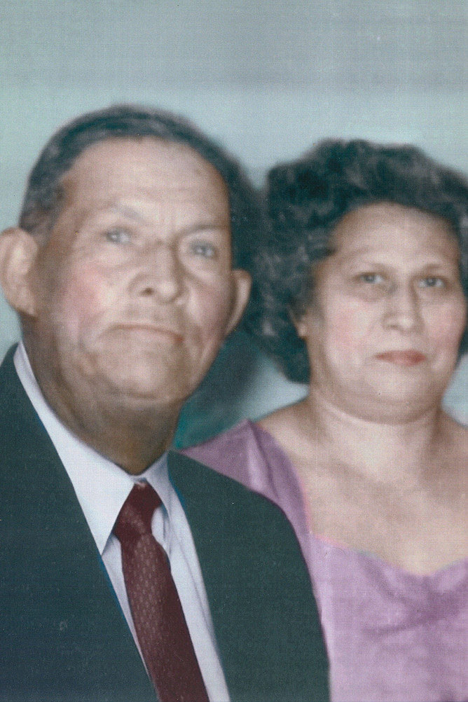 Francisco and Serapia Valtierra, c. 1958