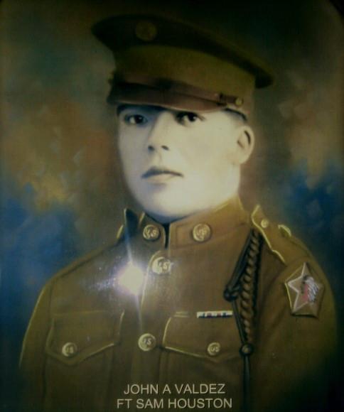 John Valdez WWI