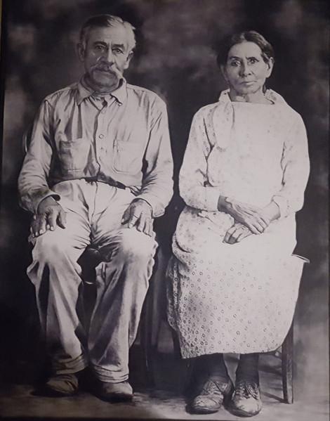 Magdaleno and Brigida Campos Valtierra, c. 1930