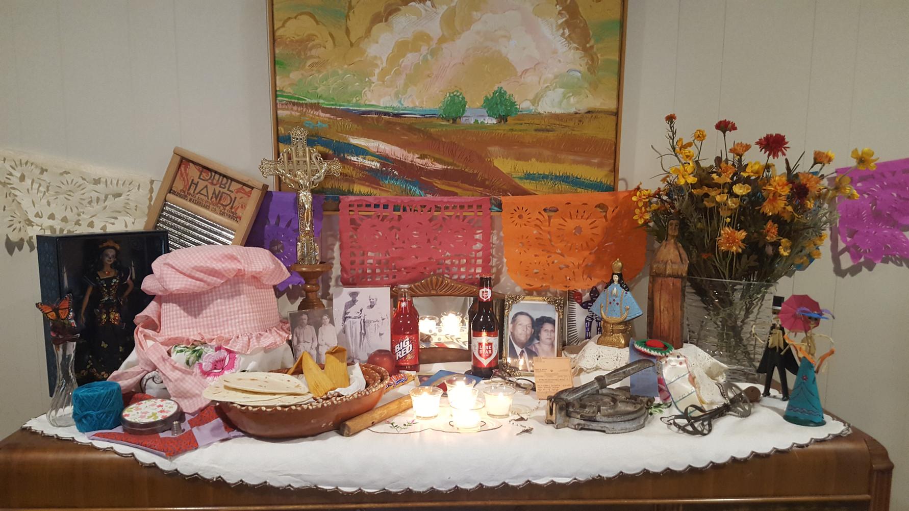 Altar of the Alcorta-Valtierra family