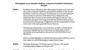 NorthStar Media Advisory 10/24/19