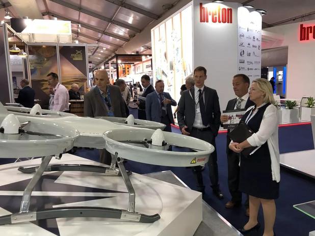 Ewatt Aerospace's Z110 quadcopter UAV