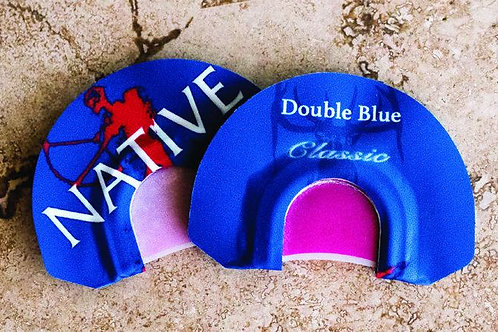 CALL DOUBLE BLUE DIAPHRAGM ELK CALL