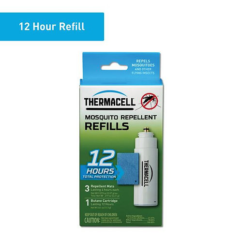THERMACELL MOSQUITO REFILL 12 HOUR