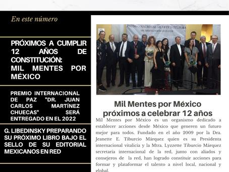 Próximos a celebrar 12 años: Mil Mentes por México