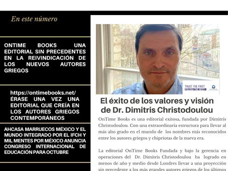 OnTimes Books: El éxito de los valores y visión de Dr. Dimitris Christodoulou