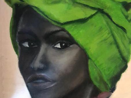 African Girl  -The original poem written in Arabic language by: Aziz Mountassir