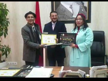 Entrega de altos honores de la Alianza y Premios Internacionales AICHYCI Morocco Mexico
