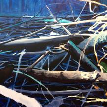 Skogbunn blå