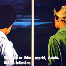 Men det er ikke mørkt Annie, det er fullmåne