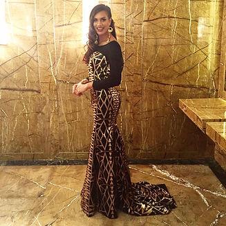 Miss World Fiji JW Designer Gown