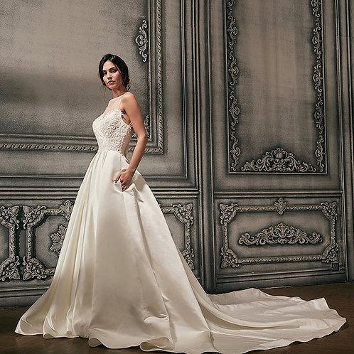 Lace Bodice Gown Wedding Dress