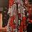 Thumbnail: Flowy Sleeve Tapa Rose Maxi Dress