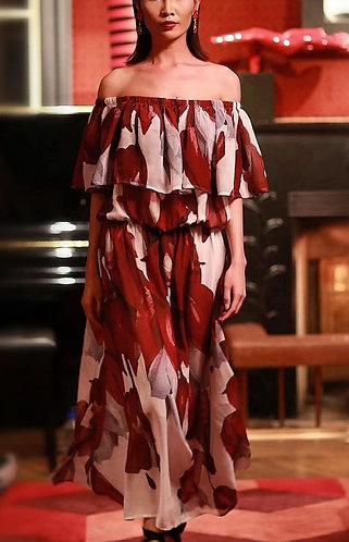Off Shoulder Dress Tagimoucia Dress