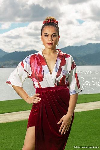 Tagimoucia Kimono Top