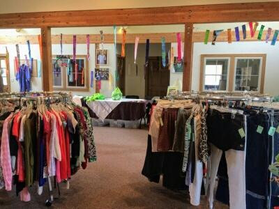 The Ladies Spring Clothing Sale was a Success!