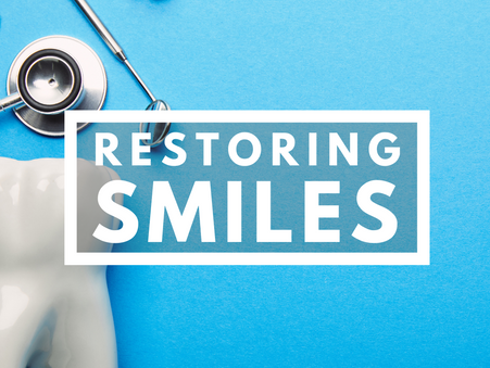 You are Relieving Pain and Restoring Smiles