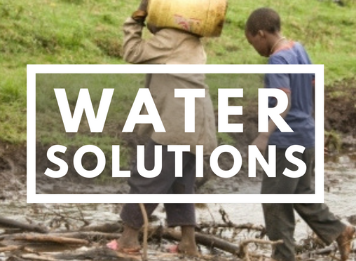 Still Working on Water Solutions