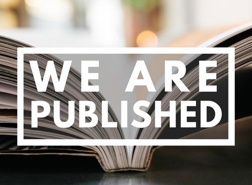 We've been published!