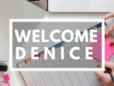 Welcome Denice to the E.I. Family