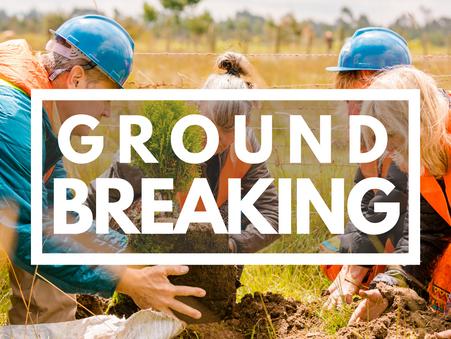 Magumu Clinic Breaking Ground - Remembering Lori Roser