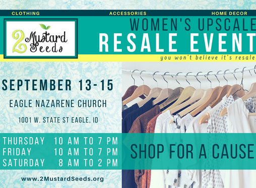 2MS Women's Resale - Save the Date