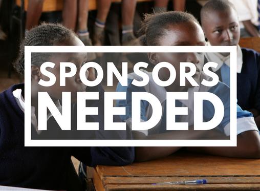 Student Sponsors Needed!