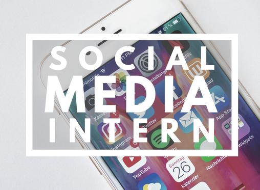 Social Media Intern Opportunity