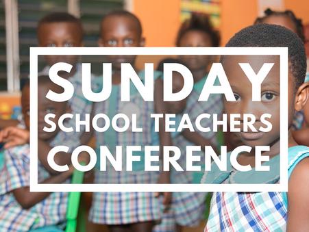 Sunday School Teacher's Conference